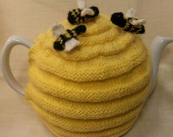 Teapot Warmer with hive motif