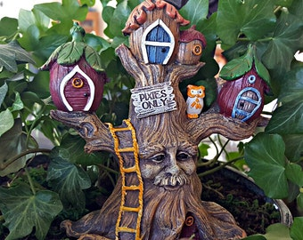 Miniature Enchanted Pixie Fairy Tree