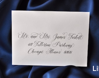 RESERVE A SPOT - Custom Calligraphy Addressing Envelope Printing