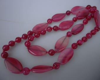 Agate chain approx. 100 cm #601