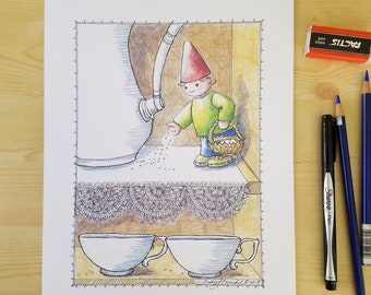"""Print of """"Gnome Dust"""""""