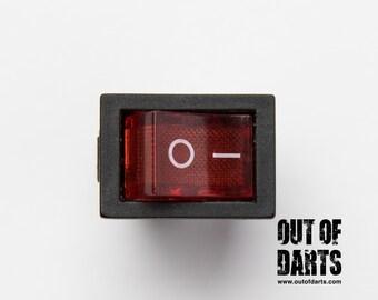 Red boat rocker switch (6A)