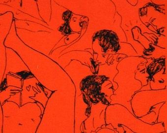 Orange Hanky- Mature