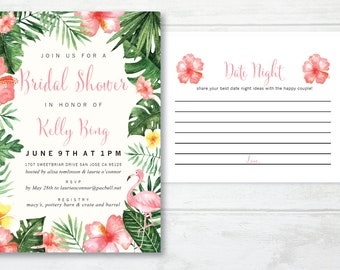 Shower Pack - Invitation + Date Night Cards
