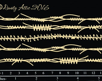 Dusty Attic, DA1673, Crazy Stitching , Scrapbooking, Chipboard, Card Making, Mixed Media, DYI crafts