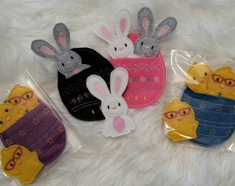 Easter Finger Puppets - Bunny - Chick - Egg