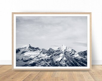 Mountain Print, Landscape Photography, Mountain Art, Landscape Print, Mountain Wall Art Print, Nature Photography, Mountain Printable Art