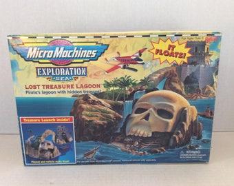 Vintage MicroMachines Lost Treasure Lagoon