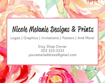Pre-Made Business Card