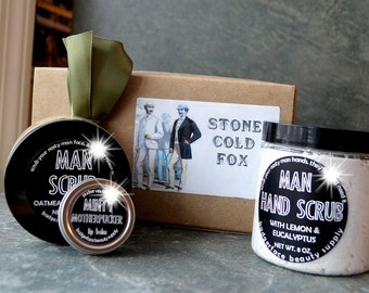 Gift Set for Men. Stone Cold Fox Box. Husband Gift. Husband Birthday Gift. Husband Gift Christmas. Funny Husband Gift. Christmas Gift Dad.