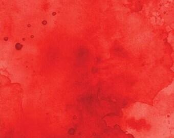 Watercolor in Crimson from Moda