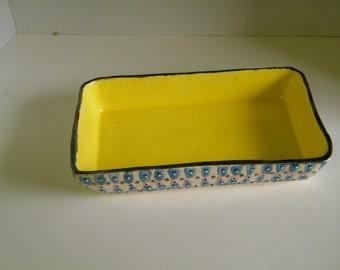 Handmade Clay Tray