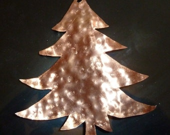 "Copper Christmas Tree Ornament by Dennis Boyd (DB Designs - Creating Metal ""works of art"") Ornament 6"