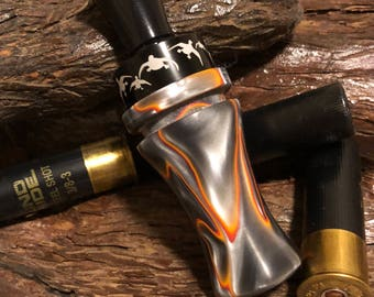 Double reed acrylic duckcall