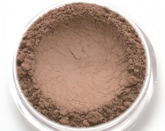 "Matte Taupe Contour Powder - ""Sparrow"" (4.5g Net wt) - Vegan Matte Mineral Makeup Contouring Bronzer for cool toned skin"