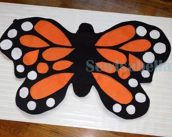 Fabric Butterfly Wings