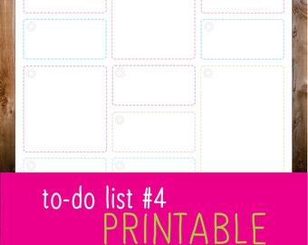 to do list #4