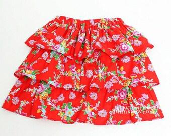 no 275 Gemma Ruffled Skirt (6M - 5Y) PDF Sewing Pattern