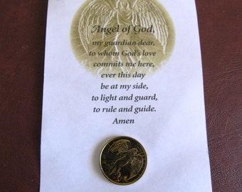 Angel of God Guardian Angel Token, Coin