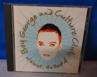 """042318 04 Used Boy George and Culture Club """"At Worst...The Best Of"""" CD Virgin D 101575"""