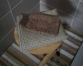 Massage cotton washcloth