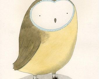 Sweet Owl Print