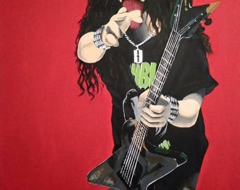 Dimebag Darrell original painting