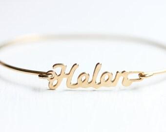 Name Bracelet - Helen