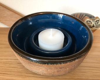 Gabriel Keramik Sweden Candle Votive Holder Stoneware