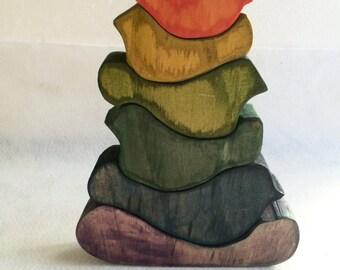 Birdie Wooden Stacking Toy