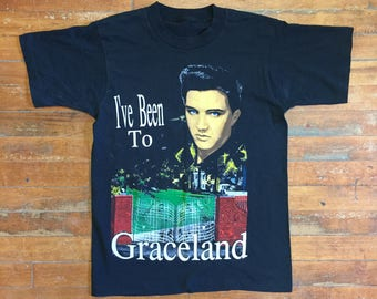 "Elvis Presley ""I've Been to Graceland"" Vintage T-Shirt"