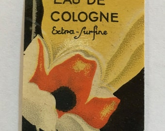 Stunning set of 19 French Art Deco perfume bottle labels