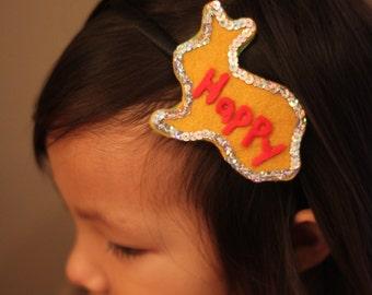 Beautiful headband for children or adult in felt