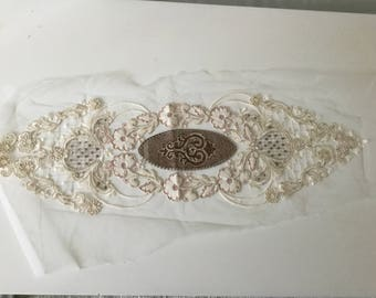 Lace embroidered sewing 69 * 20 cm