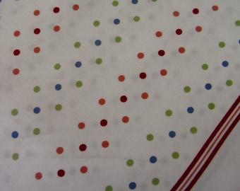 Japanese Fabric Colorful Dots half yard
