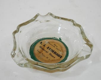 Leeds Point NJ General Store Ashtray  New Jersey Pine Barrens South Jersey Local History