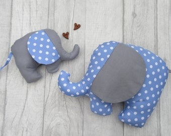 Baby Elephant Toy, Baby Gift, Baby Soft Toy, Newborn Toy, Softie Elephant Toy, Baby Stuffed Toy, Handmade Baby Toy, Children's Toy,