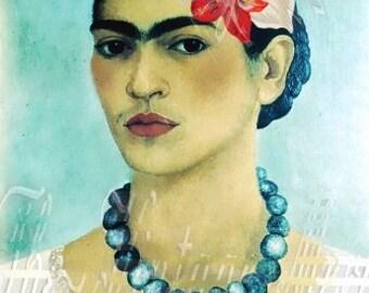 Fabric Frida Kahlo Applique Quilts Self Portrait Mexican Craft Panel Fk244
