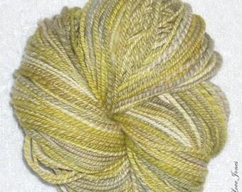 Elixir - 2 ply - 134 yds - Thick and thin Handspun Art yarn - Knitting - Crochet - Weaving - Mixed Media - Felt, etc/