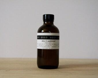 Damn Good Body Oil // Citrus + Sandalwood -- 100% natural • nourishing • hydrating • body or massage oil