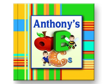 Personalized ABC book for children, personalized books for kids, 1st birthday gift, Personalized storybooks