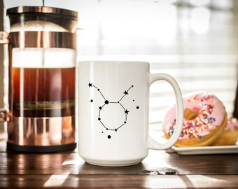 Taurus Constellation- Best Friend Gift - Taurus Gift - - Taurus Coffee Cup - Astrology Gift Idea - Mug Gift for Sister - April Birthday