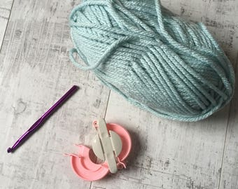 1-1 beginners crochet workshop