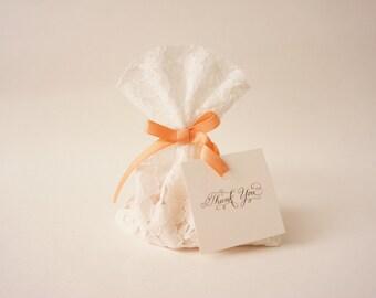 Baptism Favor Bags, Bridal Shower, Party Favors, Wedding Favors, Vintage Wedding, Custom Made Favors