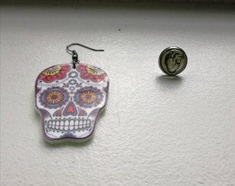 Día de muertos earrings