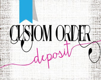 50% deposit for 135 custom acrylic drink stirrers