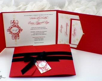Winter Beauty Wedding Invitation