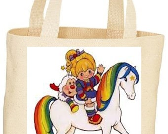 custom Rainbow Brite Tote bag market bag