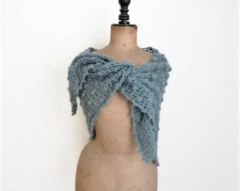 Crochet triangular shawl crochet scarf triangle scarf triangular scarf triangle shawl 62 x 26 inch crochet wrap crochet shawl polkadot shawl