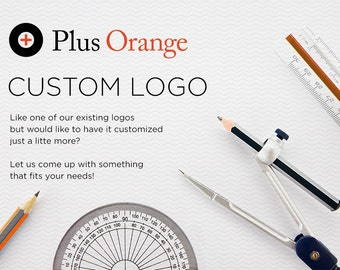 Customizable Logo for your Boutique Agency, Business or Blog on a budget - Clean and Simple.